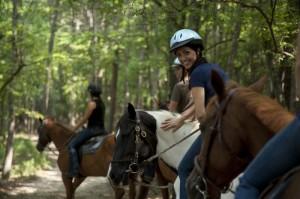 Horseback Riding at Lake Lanier Islands