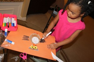 owl craft week