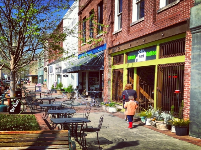 Main Street Historic Downtown Square Discover Lake Lanier