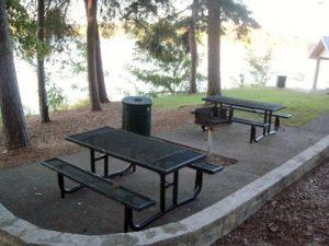 Thompson Bridge Park on Lake Lanier