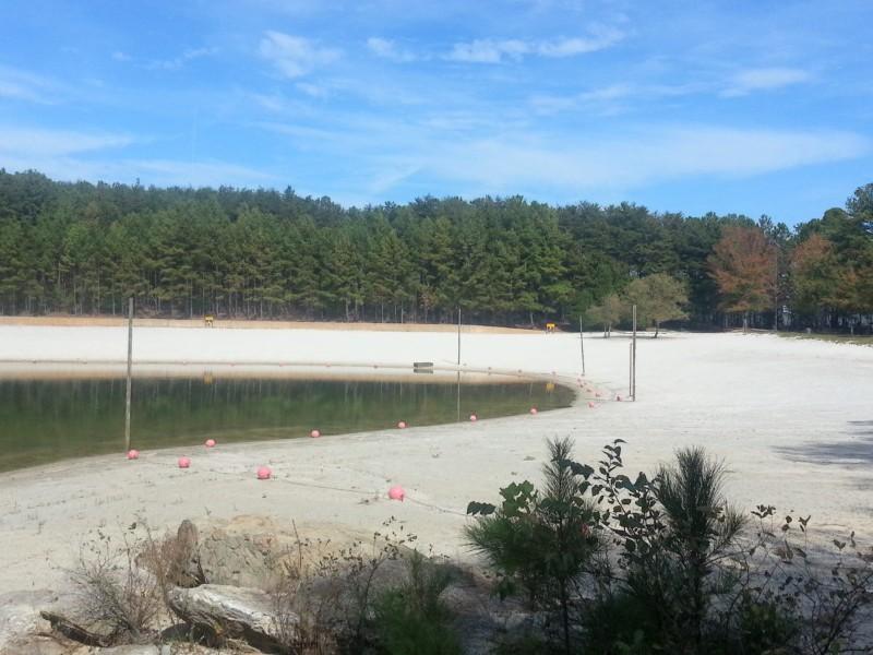 Beach-on-Lake-Lanier